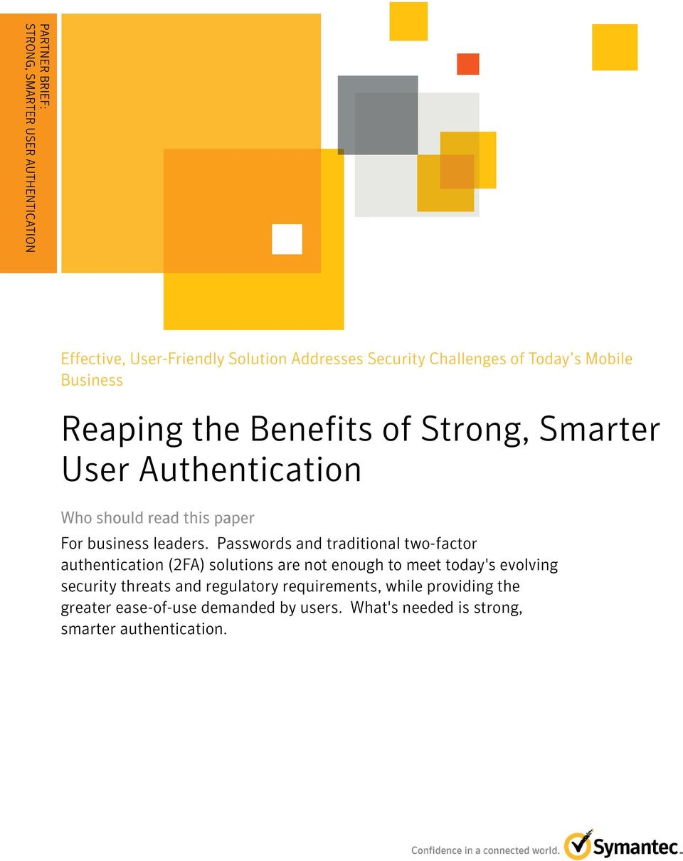 Two-factor and multifactor authentication strategies