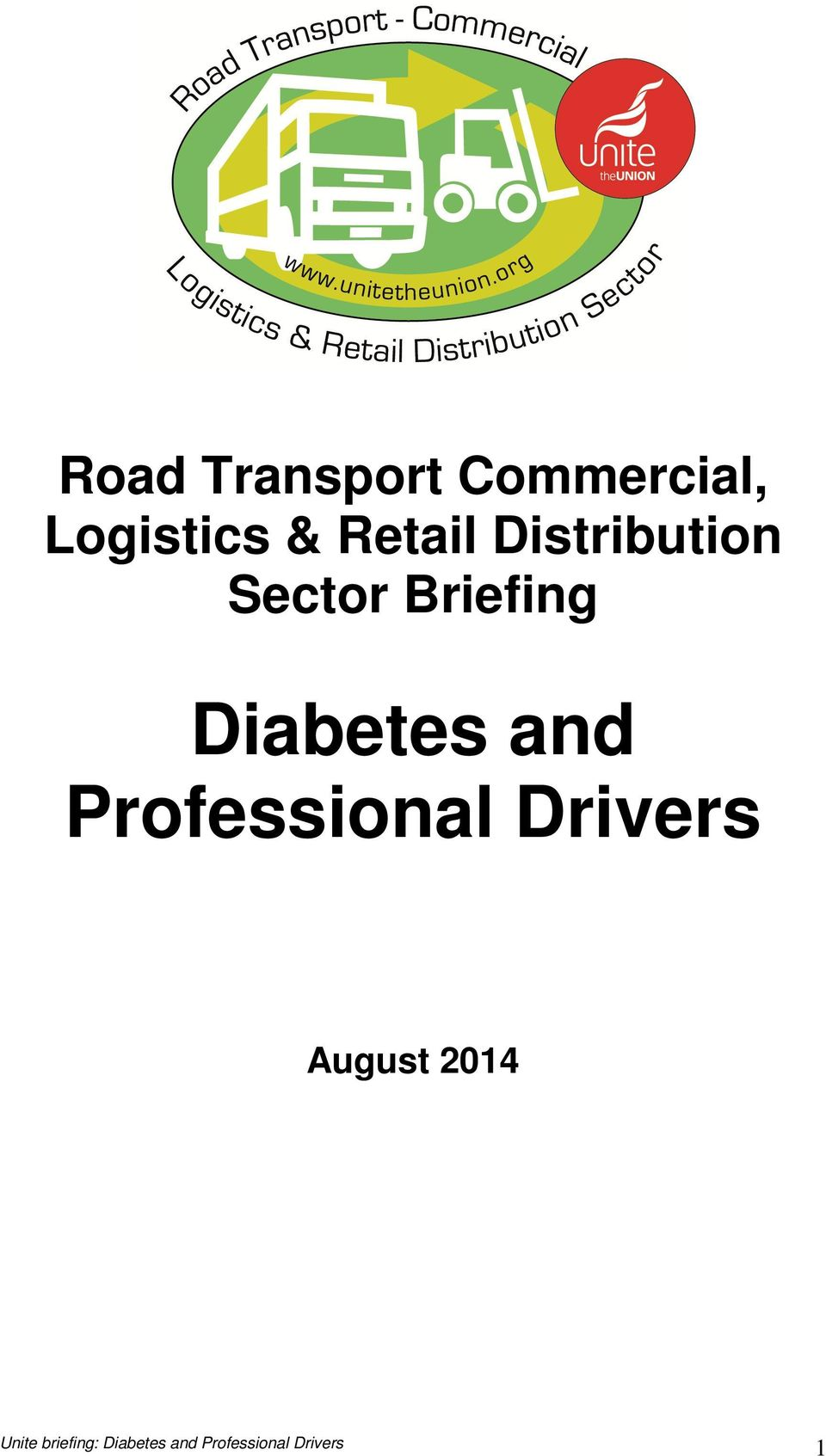 Distribution Sector Briefing