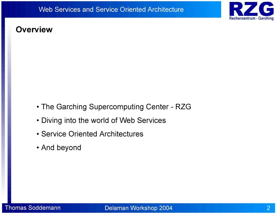 Web Services Service Oriented