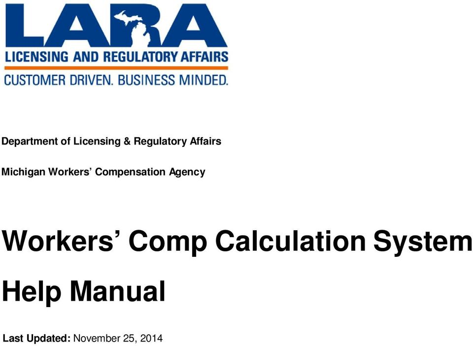 Agency Workers Comp Calculation System