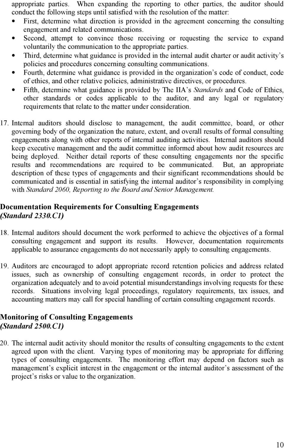 agreement concerning the consulting engagement and related communications.