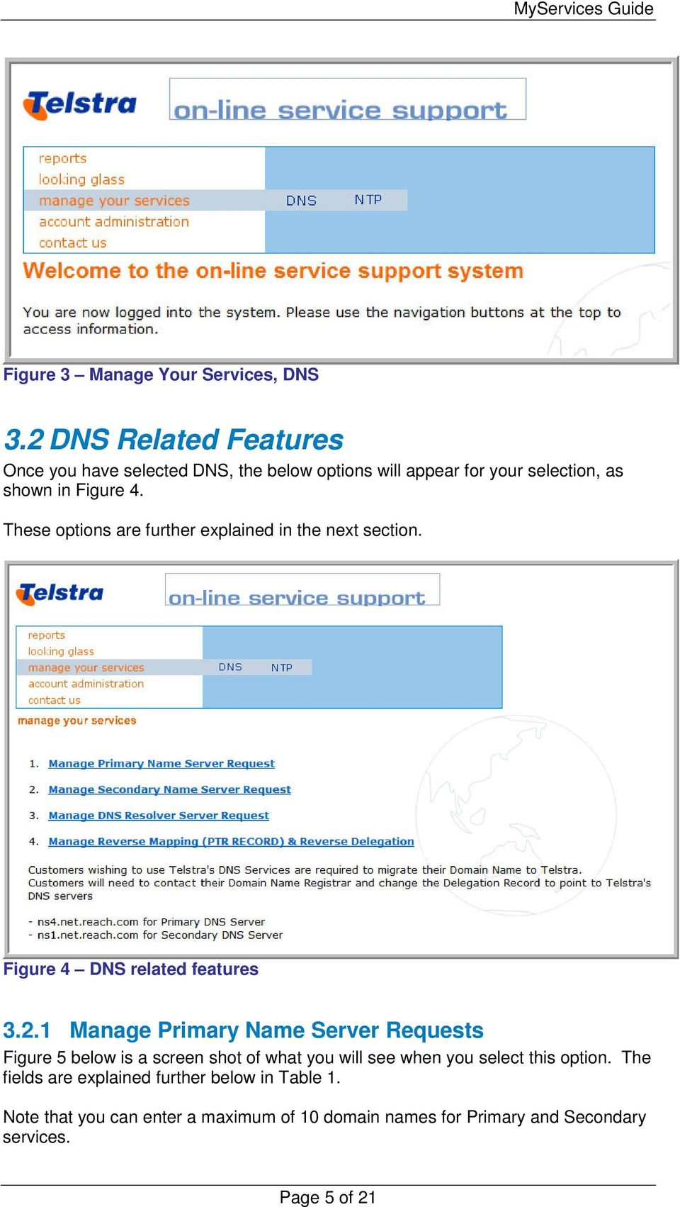 These options are further explained in the next section. Figure 4 DNS related features 3.2.