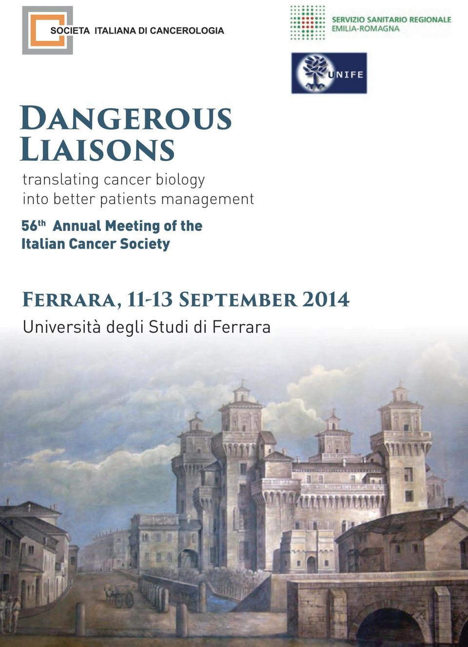 Meeting of the Italian Cancer Society Ferrara,