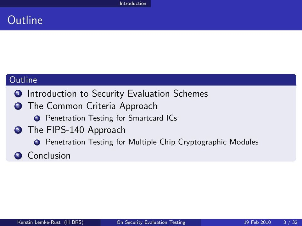 Approach 1 Penetration Testing for Multiple Chip Cryptographic Modules 4