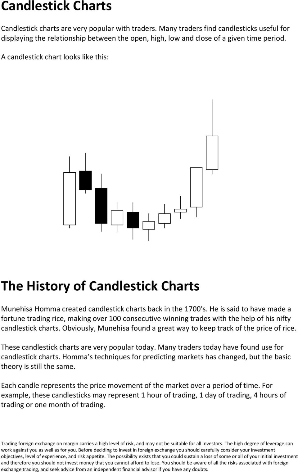 He is said to have made a fortune trading rice, making over 100 consecutive winning trades with the help of his nifty candlestick charts.