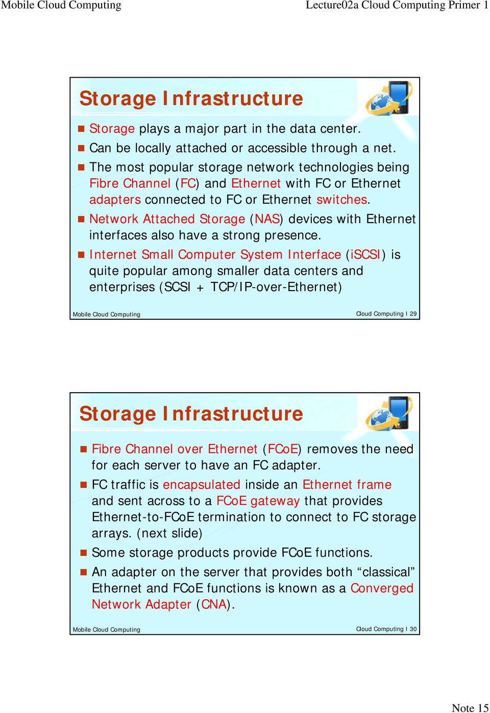 Network Attached Storage (NAS) devices with Ethernet interfaces also have a strong presence.