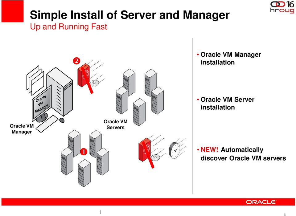 Server installation Oracle VM Manager Oracle VM