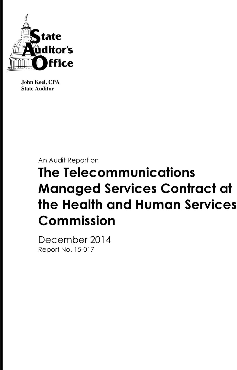Managed Services Contract at the Health