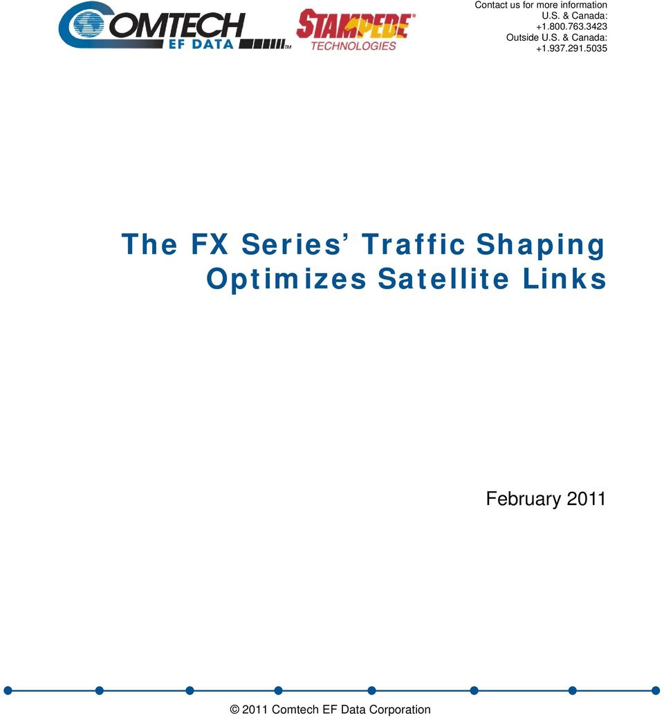 5035 The FX Series Traffic Shaping Optimizes