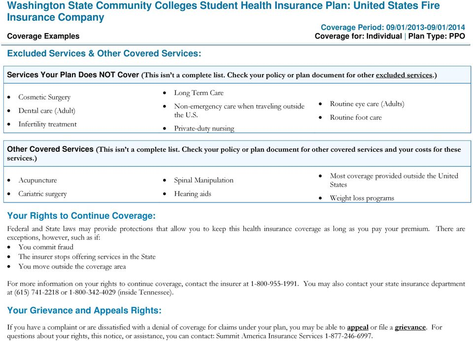 Check your policy or plan document for other covered services and your costs for these services.