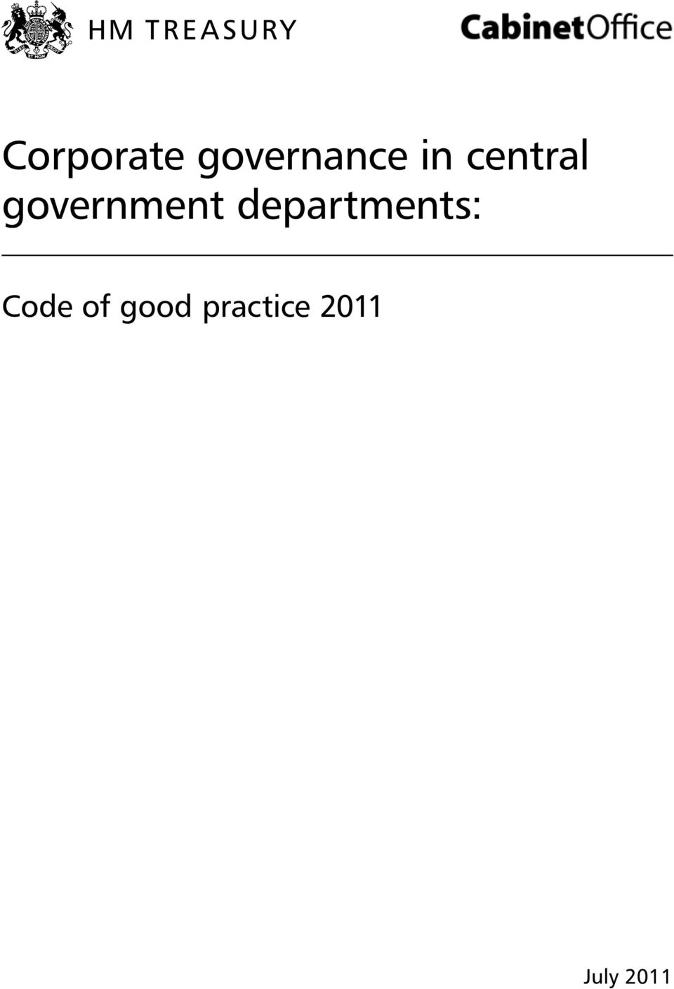 departments: Code of