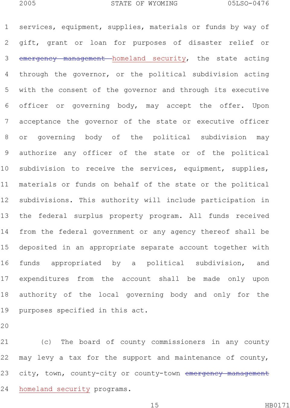 Upon acceptance the governor of the state or executive officer or governing body of the political subdivision may authorize any officer of the state or of the political subdivision to receive the