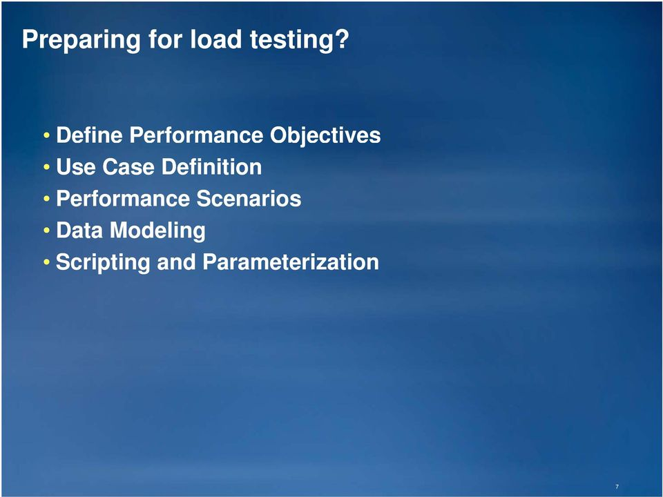Case Definition Performance
