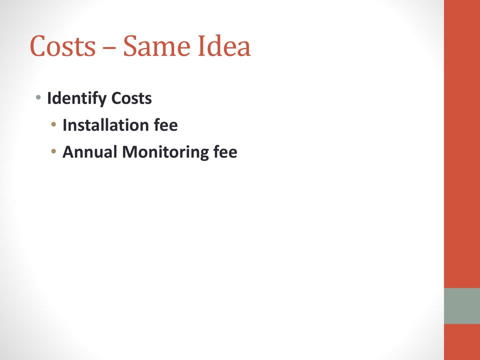 Installation fee