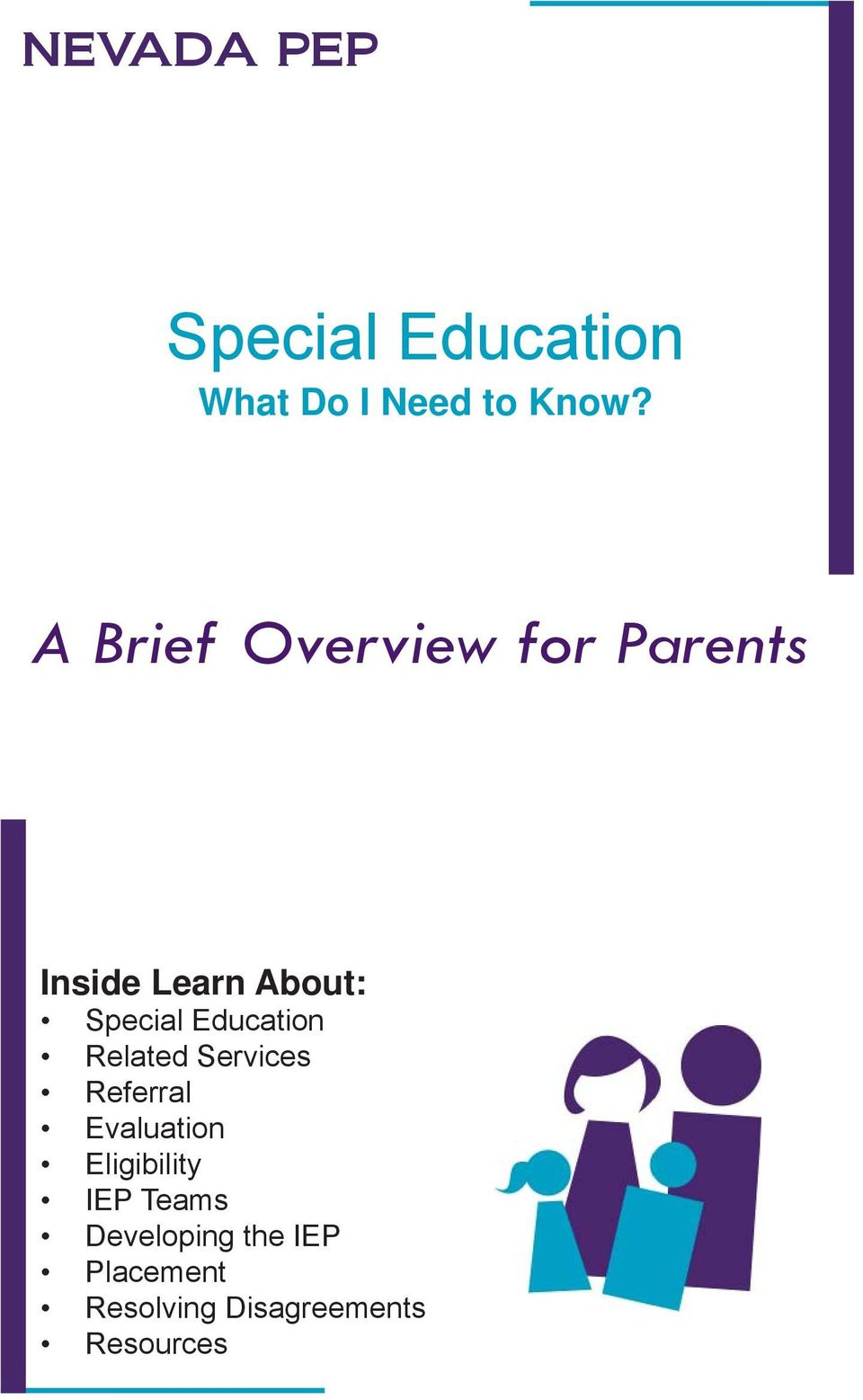 Education Related Services Referral Evaluation Eligibility
