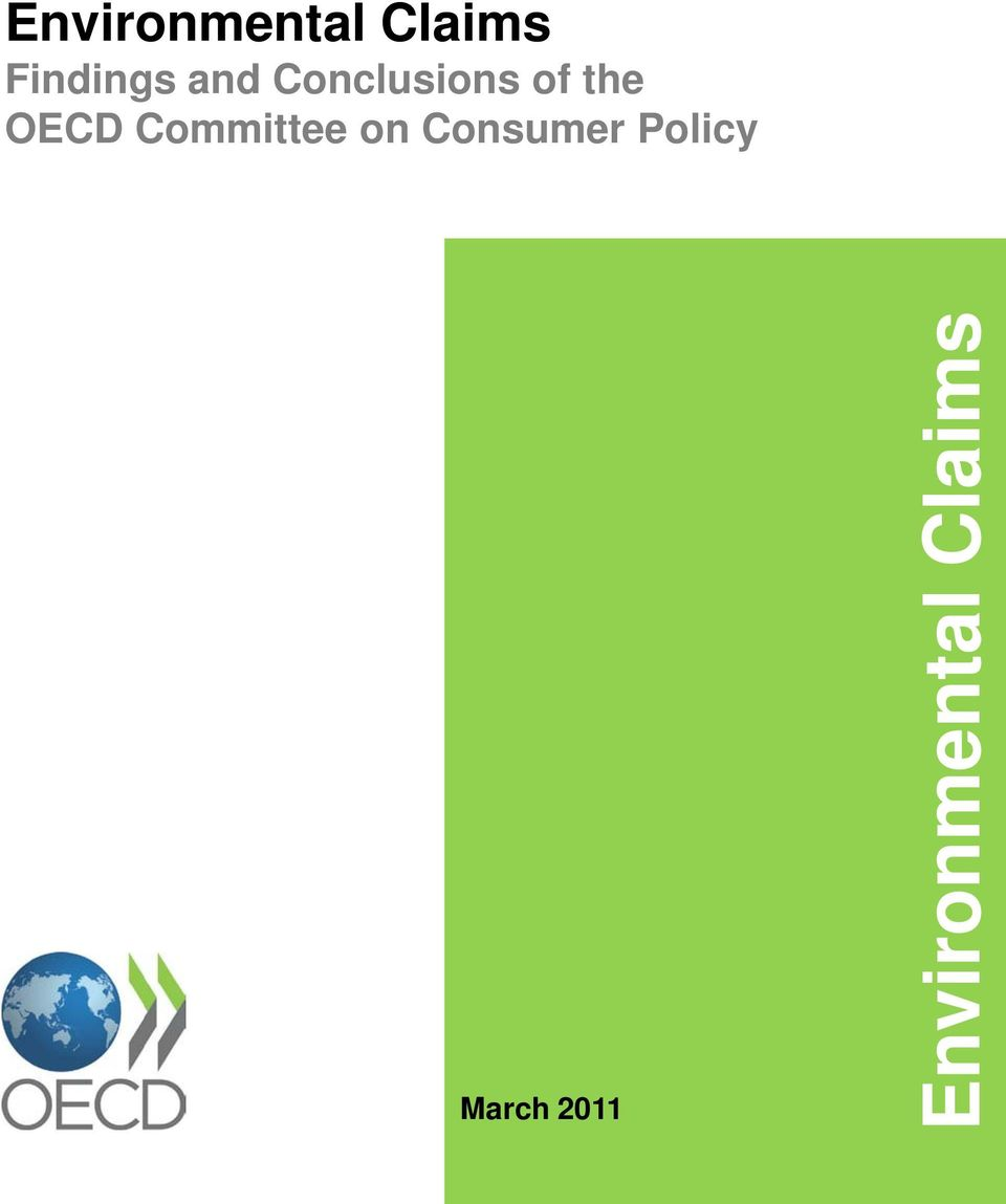Committee on Consumer Policy