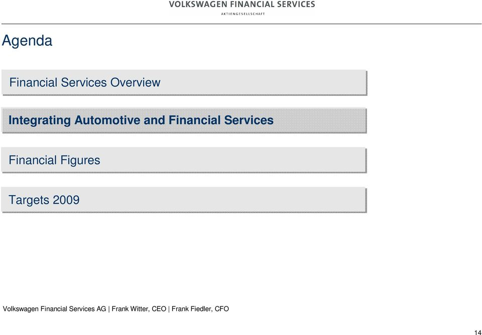 Automotive and Financial