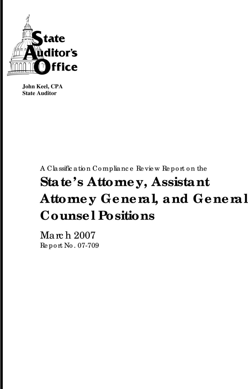 Attorney General, and General