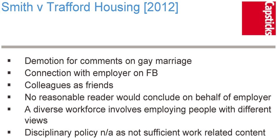 would conclude on behalf of employer A diverse workforce involves employing