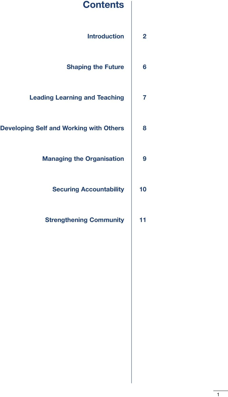 and Working with Others 8 Managing the