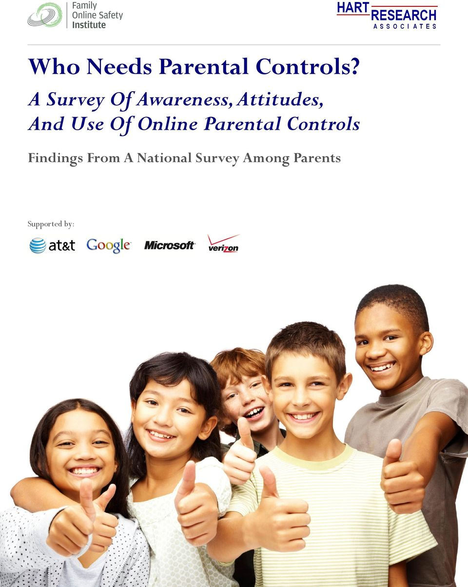 Parental Controls Findings From