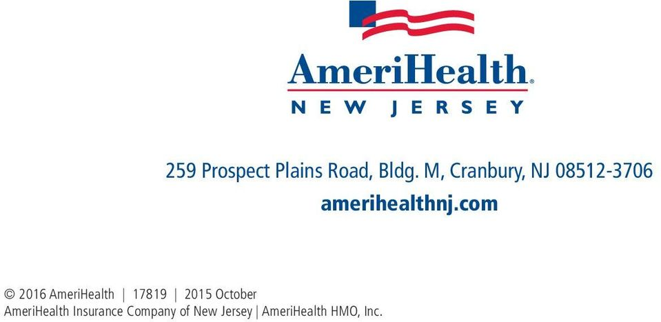 com 2016 AmeriHealth 17819 2015 October