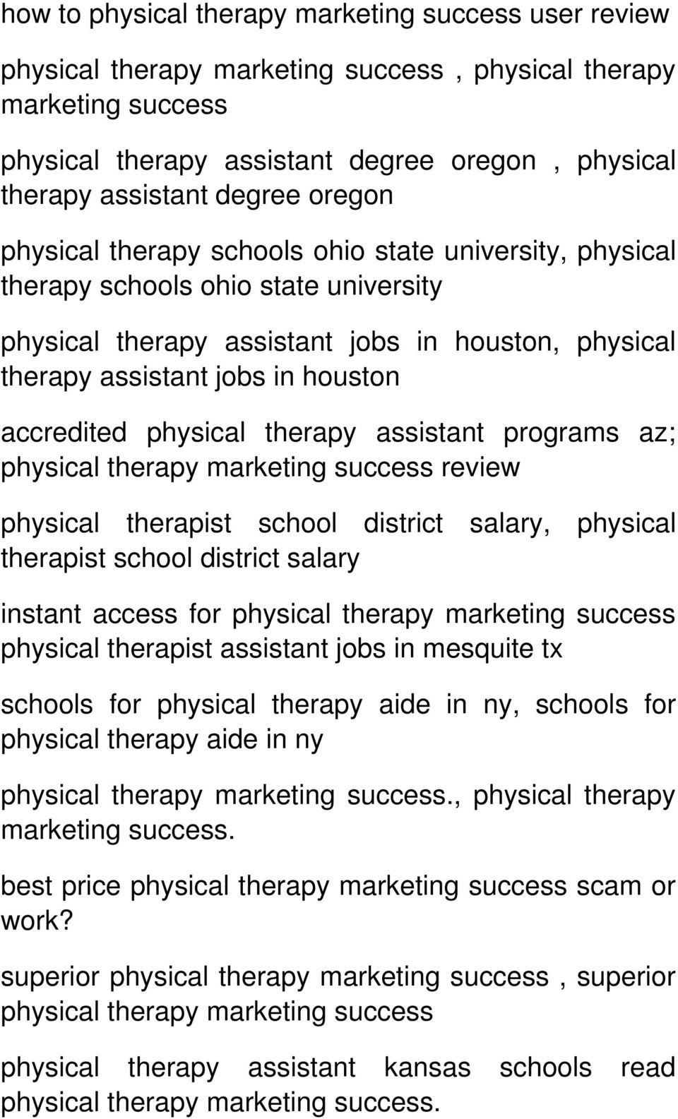 physical therapy review physical therapist school district salary, physical therapist school district salary instant access for physical therapy physical therapist assistant jobs in mesquite tx