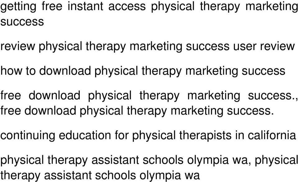 , free download physical therapy.