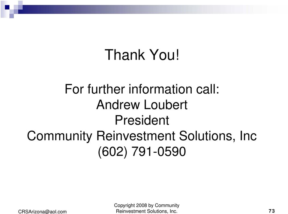 Loubert President Community