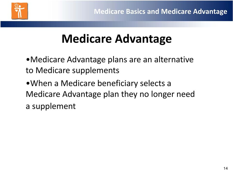 When a Medicare beneficiary selects a
