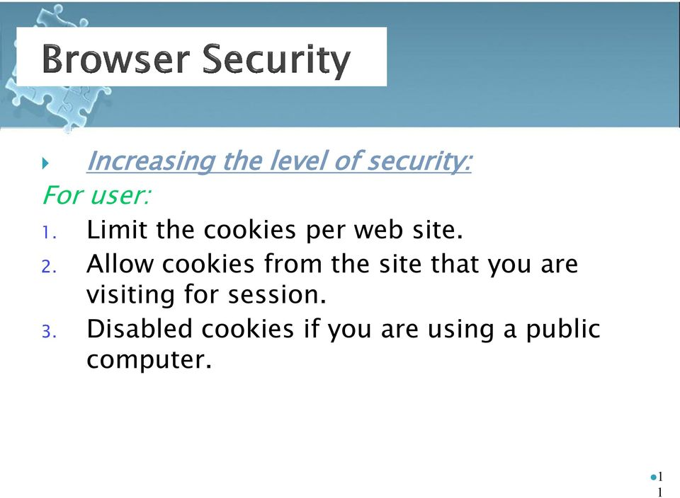 Allow cookies from the site that you are visiting