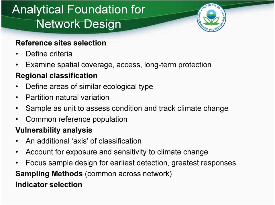 climate change Common reference population Vulnerability analysis An additional axis of classification Account for exposure and
