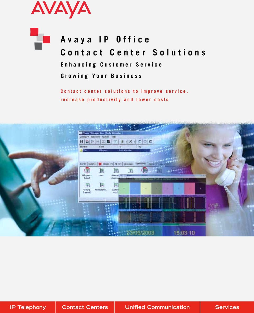 solutions to improve service, increase productivity and