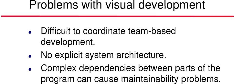 No explicit system architecture.