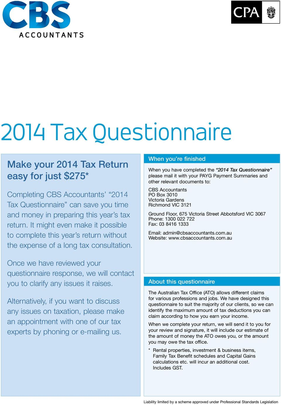 It might even make it possible to complete this year s return without the expense of a long tax consultation.