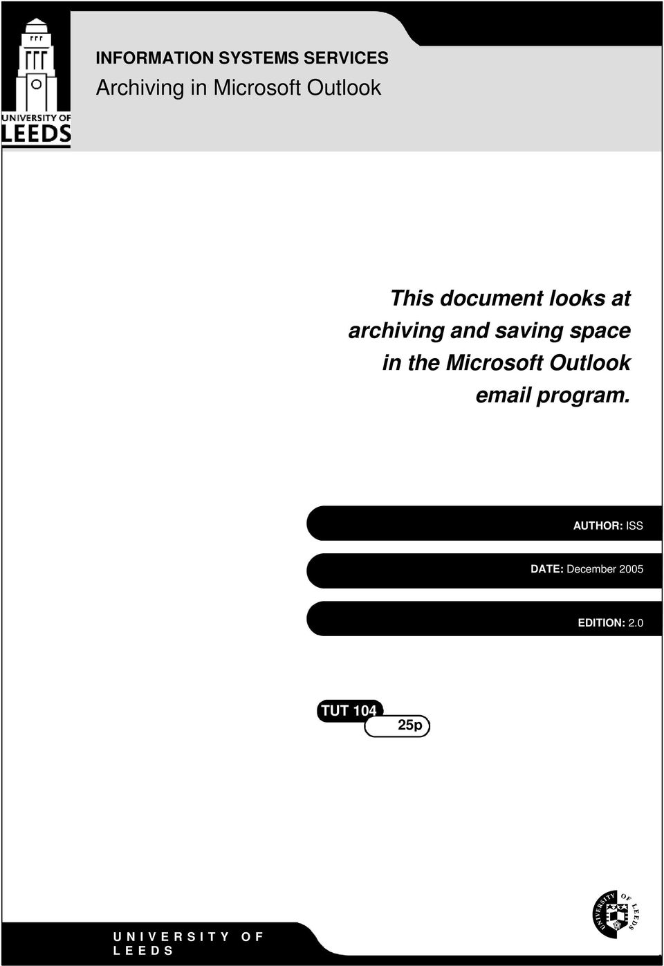 space in the Microsoft Outlook email program.