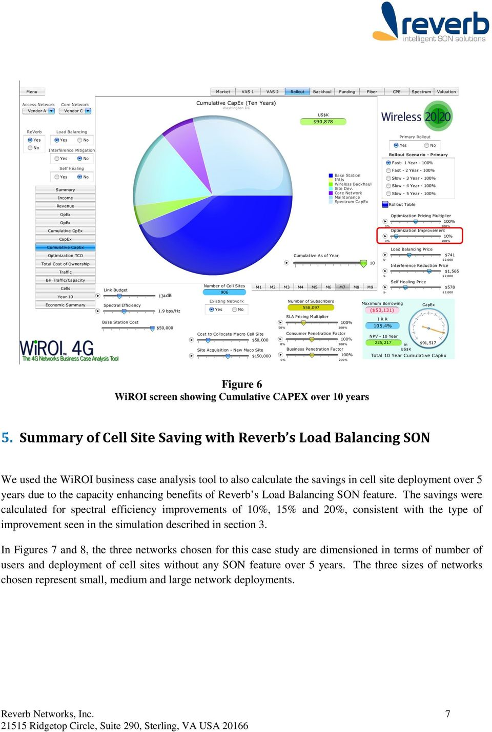 enhancing benefits of Reverb s Load Balancing SON feature.
