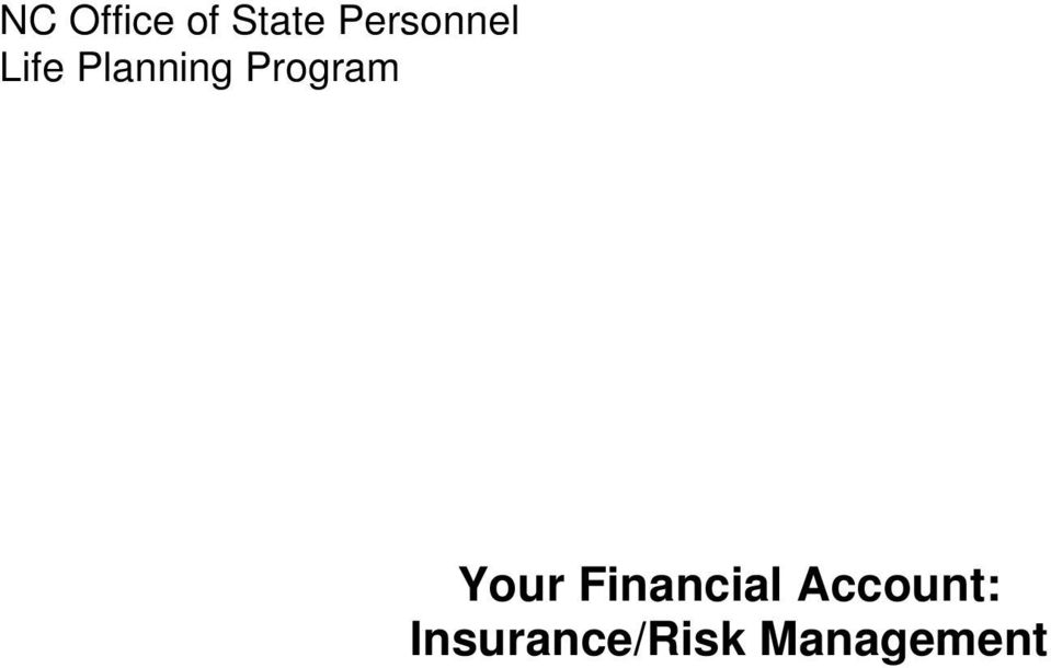 Program Your Financial