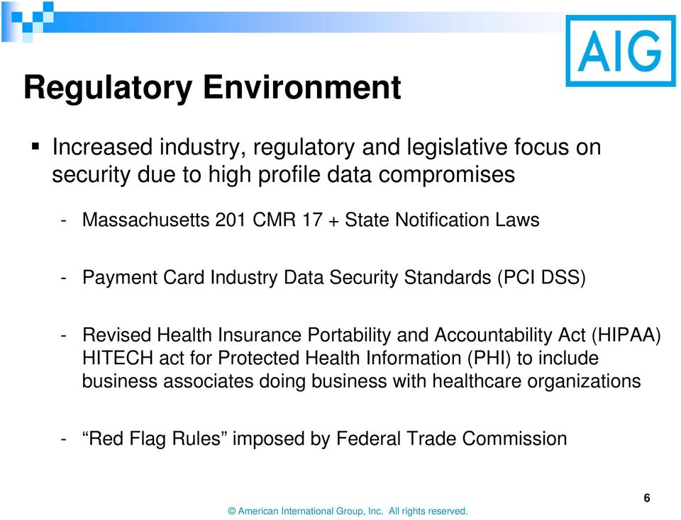 DSS) - Revised Health Insurance Portability and Accountability Act (HIPAA) HITECH act for Protected Health Information