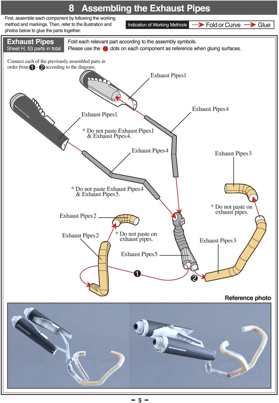 Exhaust Pipes Exhaust Pipes Exhaust Pipes * Do not paste Exhaust Pipes & Exhaust Pipes.