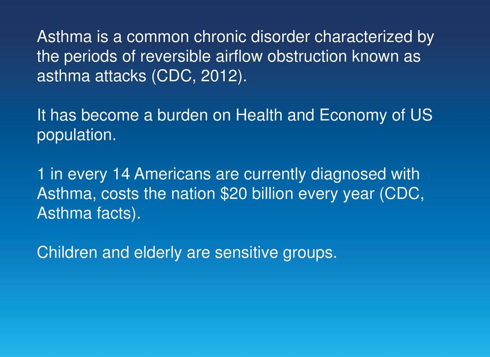 It has become a burden on Health and Economy of US population.