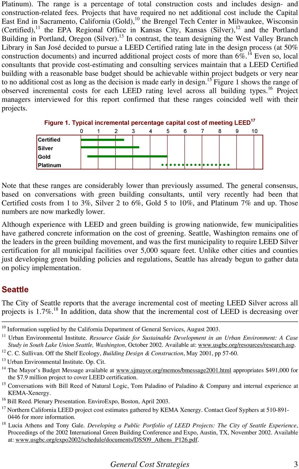 Managing The Cost Of Green Buildings Pdf