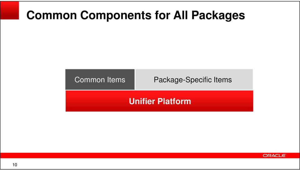 Items Package-Specific