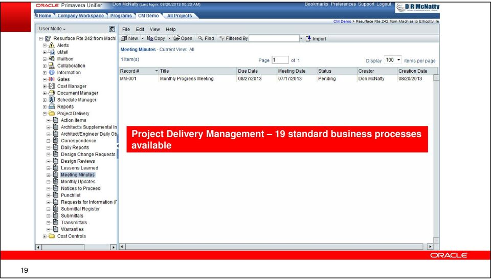 Delivery Management 19