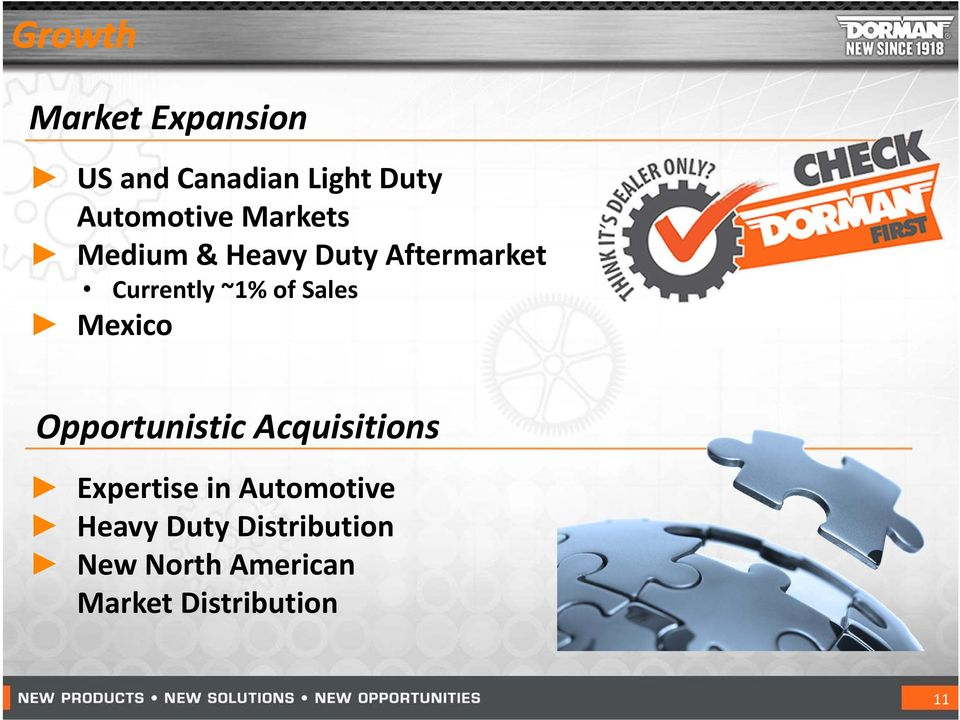 Sales Mexico Opportunistic Acquisitions Expertise in