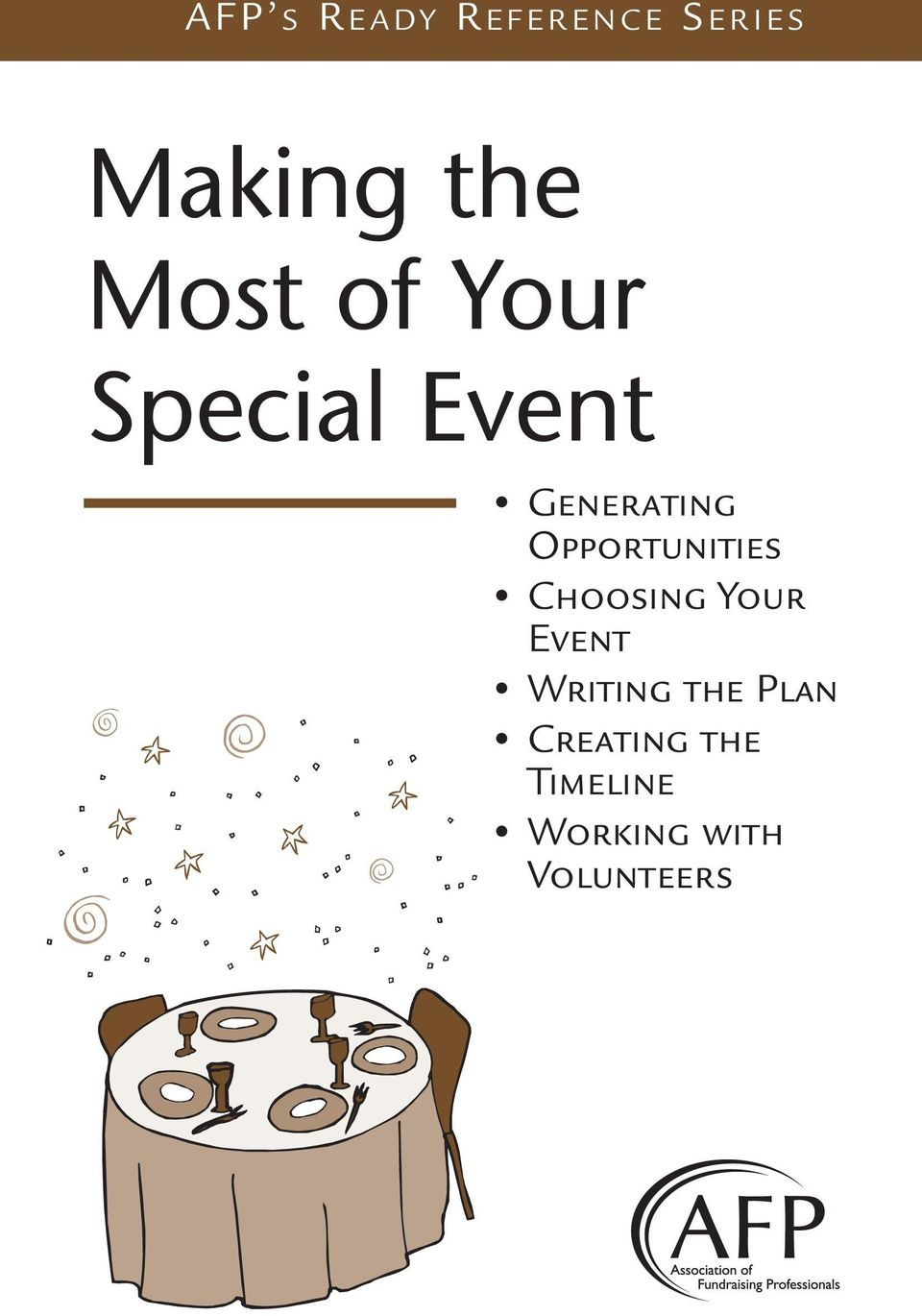 Opportunities Choosing Your Event Writing