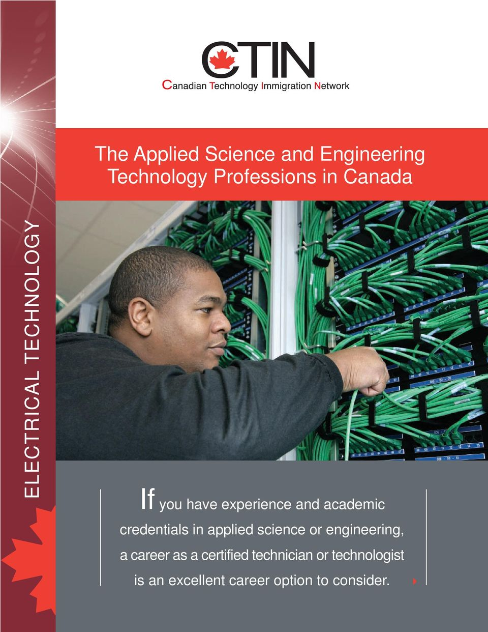 applied science or engineering, a career as a certified