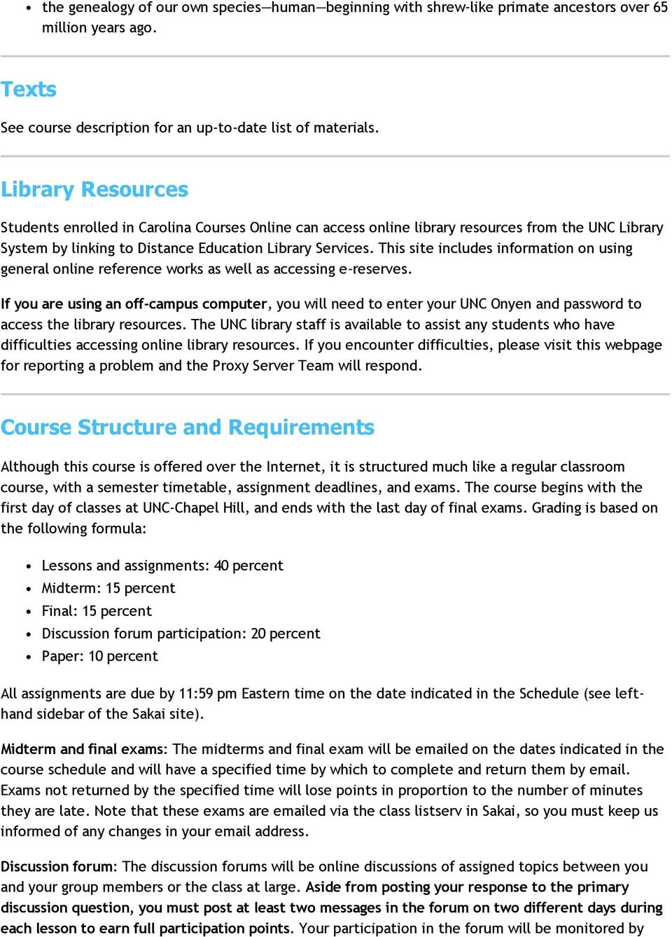 This site includes information on using general online reference works as well as accessing e reserves.