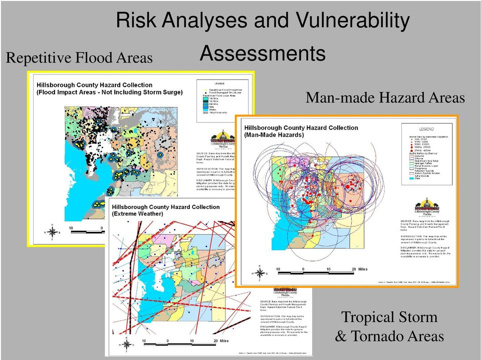 Flood Areas Assessments