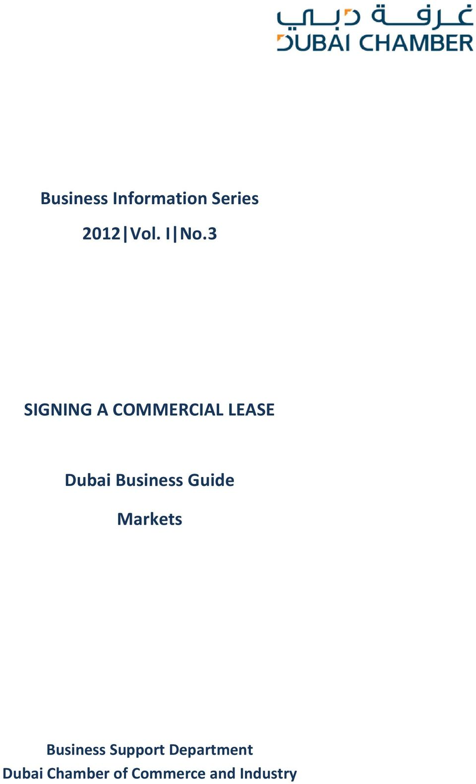 Business Guide Markets Business Support